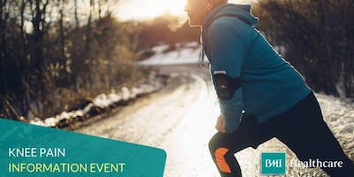 FREE Knee Pain Information Evening at BMI The Hampshire Clinic