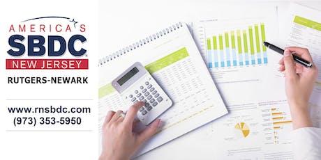 RNSBDC QuickBooks & Financial Decision Making Workshop tickets
