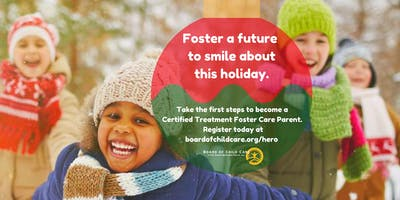 Foster Greatness! Becoming a Certified Treatment Foster Care Parent