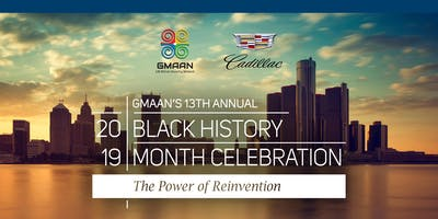 13th Annual GMAAN Black History Month Celebration