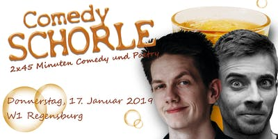 Die Comedy Schorle - Regensburg // Michael Mauder & Pascal Simon