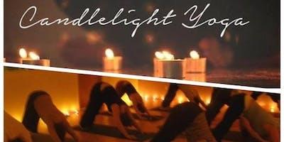 Candlelight Restorative Yoga and Gratitude Swap