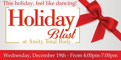 Holiday Blast at Amity Total Body