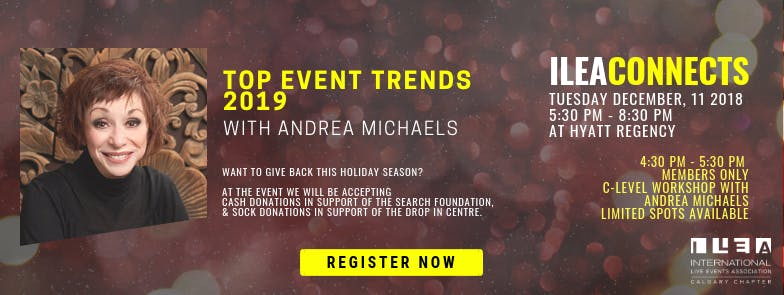 ILEAConnects: Top Event Trends 2019 with Andr