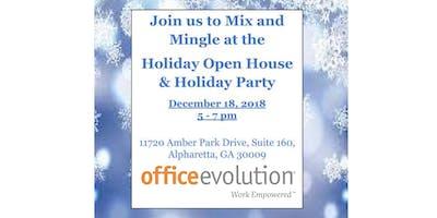 Mix & Mingle Holiday Open House!