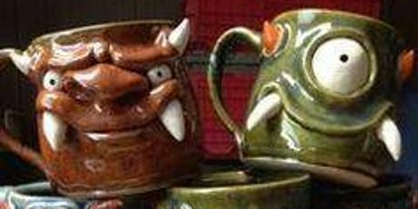 Family Art Night - Monster Mugs tickets