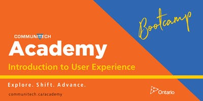 Introduction to User Experience Bootcamp