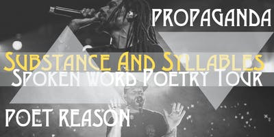 Substance & Syllables Spoken Word Poetry Tour (Calgary)