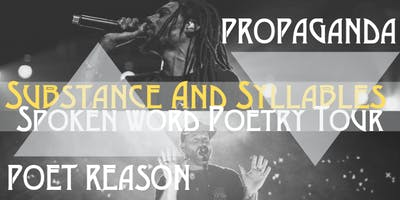 Substance and Syllables Spoken Word Poetry Tour (New Westminster)