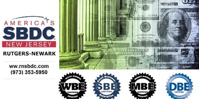 RNSBDC NJ State Certification & Private Contracting Workshop
