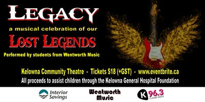 Legacy (Matinee)- A Musical Celebration Of Our Lost Legends (2pm show)