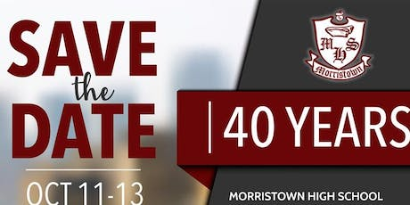 Morristown High School Class of '79 Reunion tickets