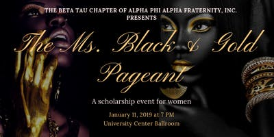 Miss Black and Gold Pagent