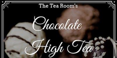 Chocolate High Tea at The Tea Room