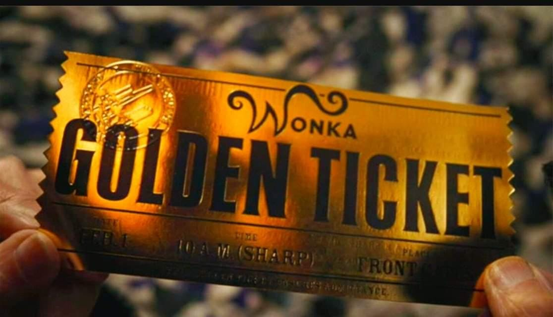 """Golden Ticket"" LEGACY BUILDING WORKSHOP ! LE"