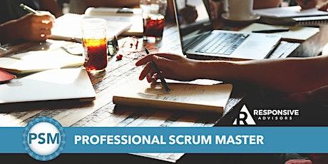 Professional Scrum Master Certification (PSM) - Chicago  tickets