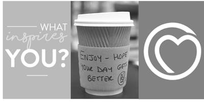 Caring Coffee because one small act of kindness can make a difference