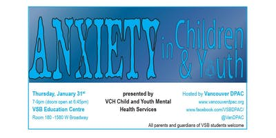 Anxiety in Children & Youth