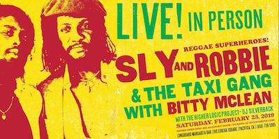 Sly & Robbie & The Taxi Gang with Special Guest Bitty Mclean