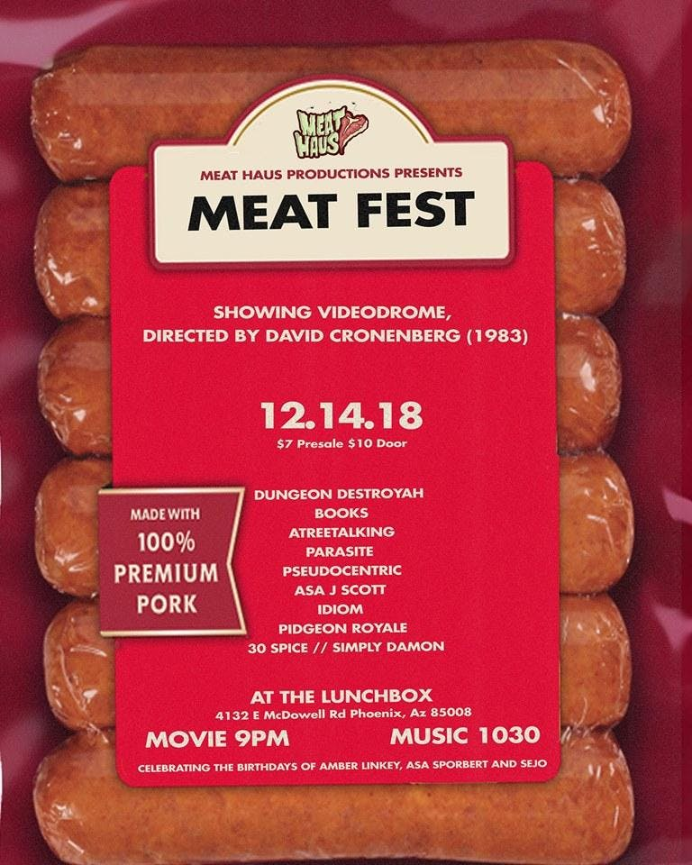 MEATHAUS PRODUCTIONS PRESENTS: MEATFEST