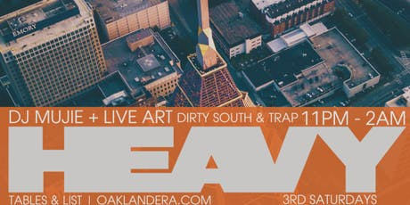 HEAVY: DJ Mujie at Era Art Bar tickets