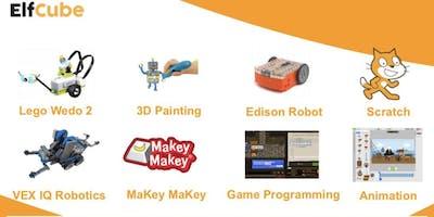 7th Jan Afternoon - ElfCube Robotics and Tech School Holiday Program