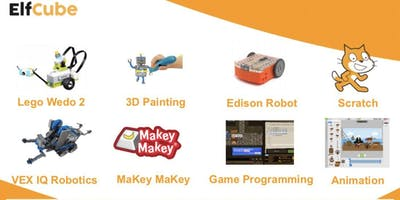 9th Jan Afternoon Session - ElfCube Robotics and Tech School Holiday Program