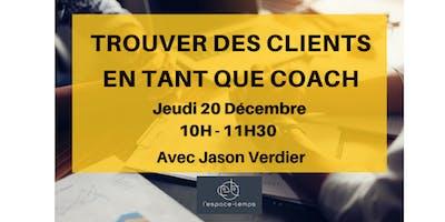 """Atelier \""""Trouver des clients en tant que coach\"""""""