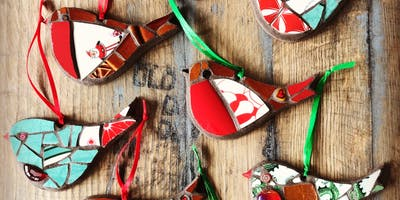 Mosaic/Stained Glass Christmas Decoration Workshop