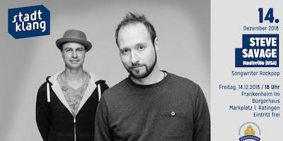 «stadtklang» mit Steve Savage / live im Frankenheim Ratingen