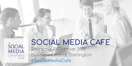 Darlington Social Media Cafe: October 2019 tickets