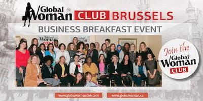 GLOBAL WOMAN CLUB BRUSSELS: BUSINESS NETWORKING BREAKFAST - MARCH