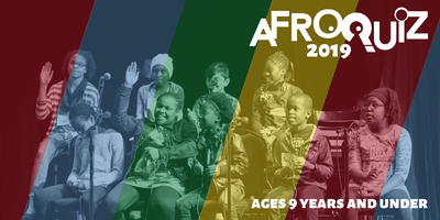 27th Annual AfroQuiz: 9 and Under