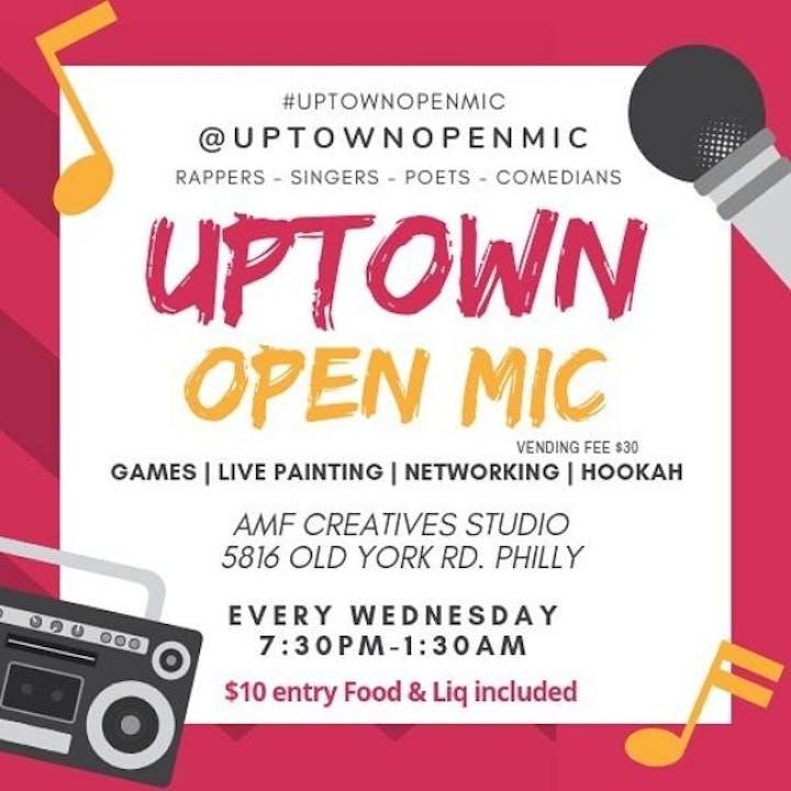 Uptown Open Mic