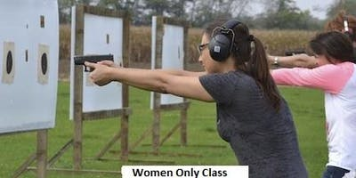 Women Only Concealed Carry Class (Self Defense Act)