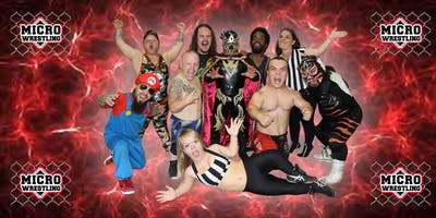All-New 21 & Up Micro Wrestling at 1933 Event Center!