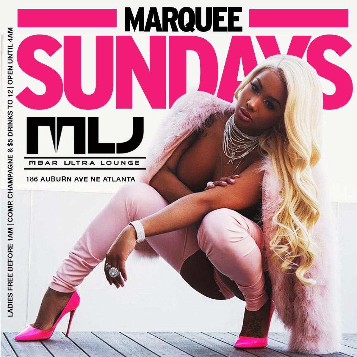 Marquee Sundays