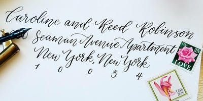 Intro to Modern Calligraphy Workshop