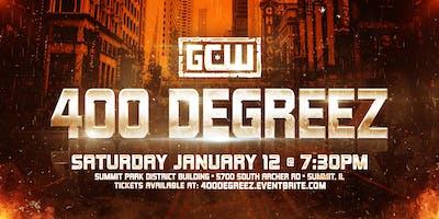 """GCW presents \""""400 Degreez\"""""""