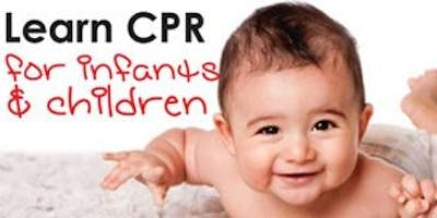 CPR/First Aid for Babysitters (youth)