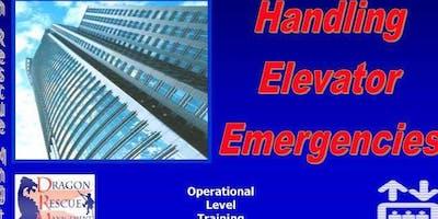 Handling Elevator Emergencies - Operational Level - October 24-25, 2019