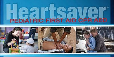 Heartsaver Pediatric First Aid CPR AED (American Heart Association)