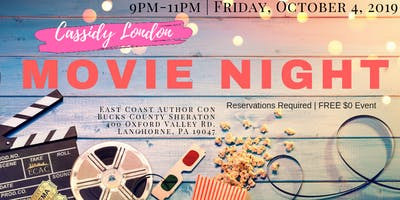 ECAC 19 Movie Night hosted by Cassidy London