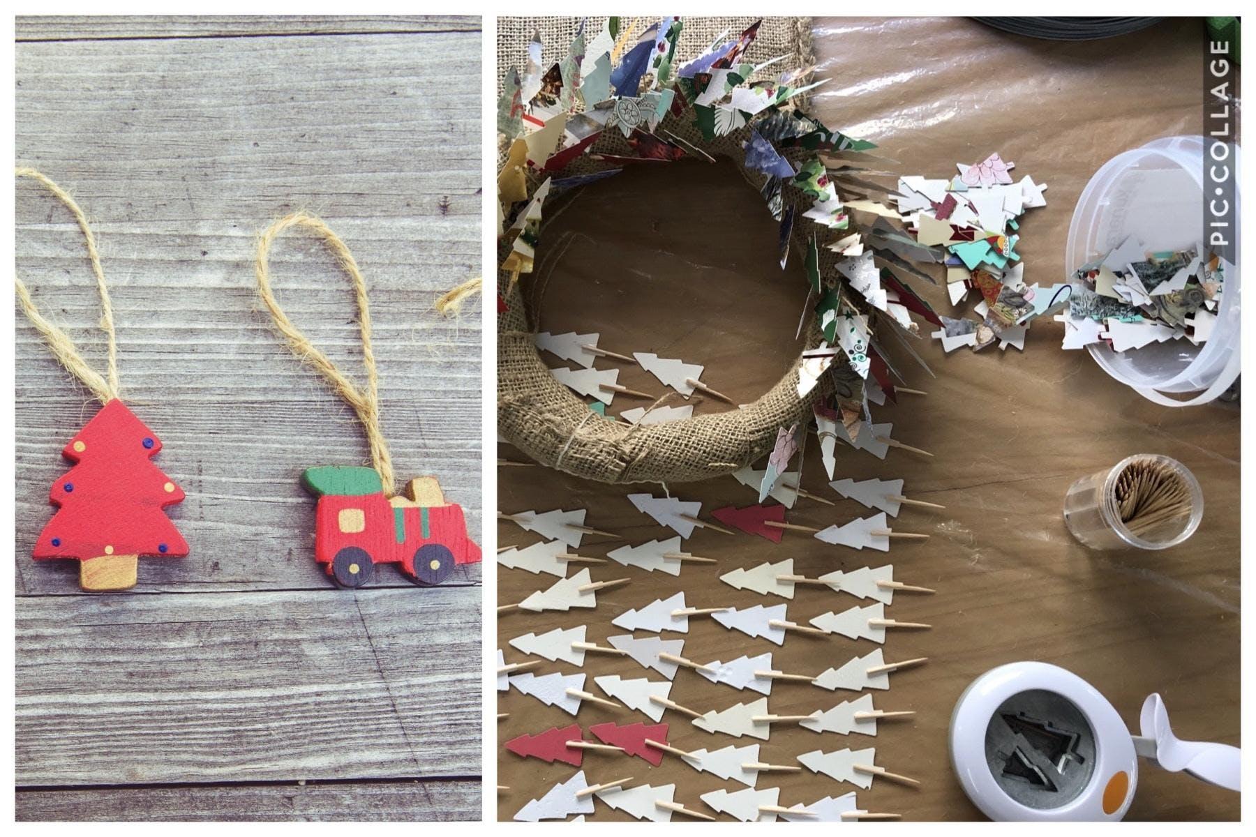 Emi's Creative Workshops - Christmas wreath &