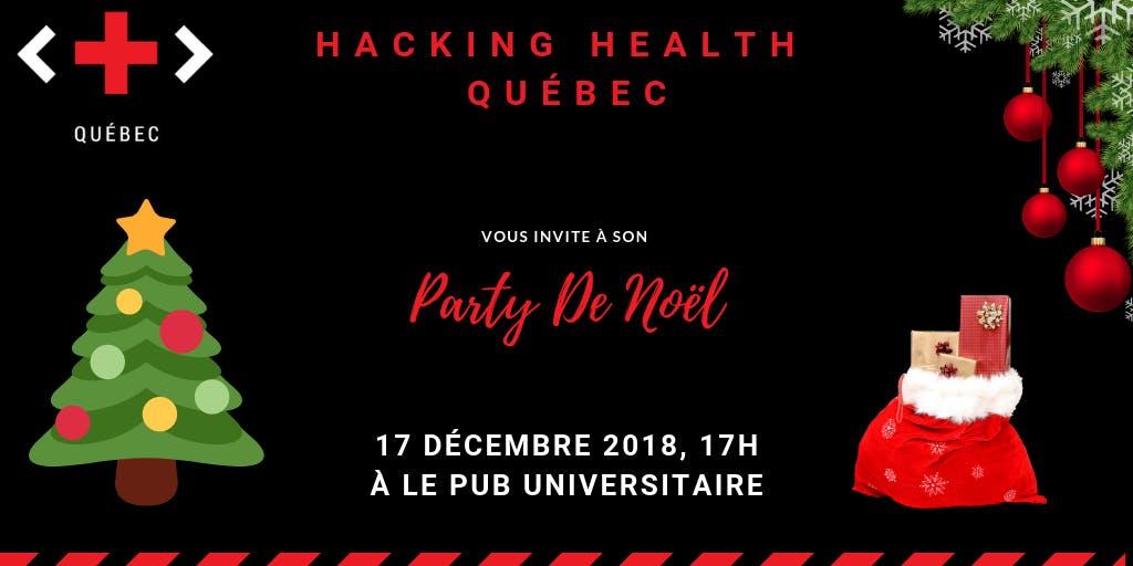 Hacking Health Québec - 5 @ 7 de Noël