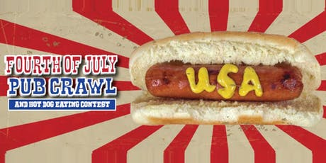 San Francisco Fourth Of July Pub Crawl & Hot Dog Eating Contest 2019 tickets
