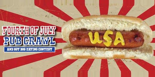 San Francisco Fourth Of July Pub Crawl & Hot Dog Eating Contest 2019
