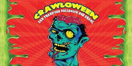 Crawloween: San Francisco Halloween Pub Crawl 2019 tickets
