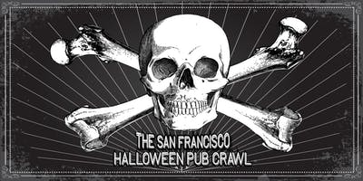 San Francisco Halloween: ***** ***** 'R Treating Pub Crawl 2019