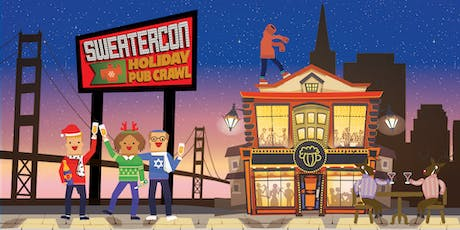 Sweater-Con 2019: San Francisco Holiday Pub Crawl tickets